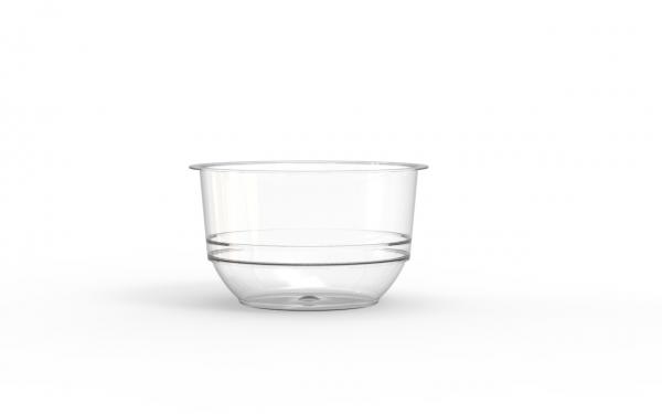 Bol operculable transparent 250 cm3