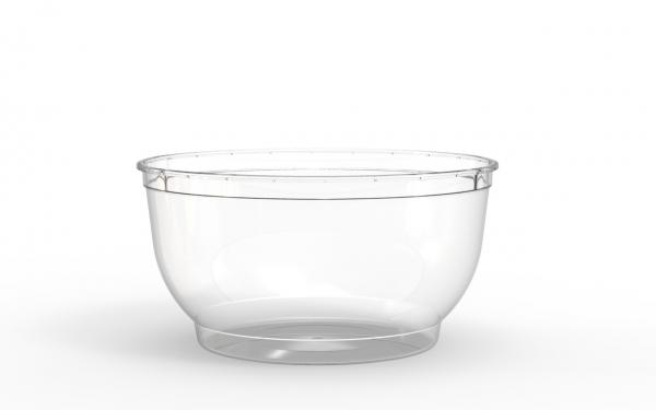 Bol operculable transparent 1100 cm3