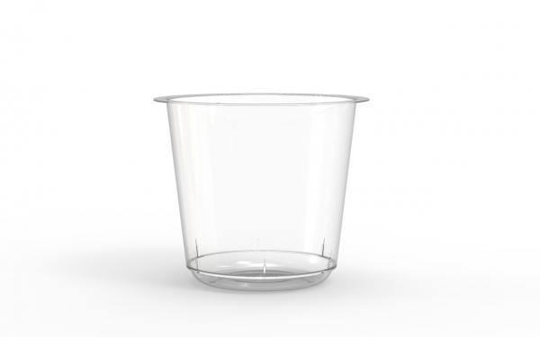 Bol operculable transparent 595 cm3