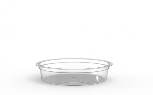 Barquette operculable transparente 360 cm3