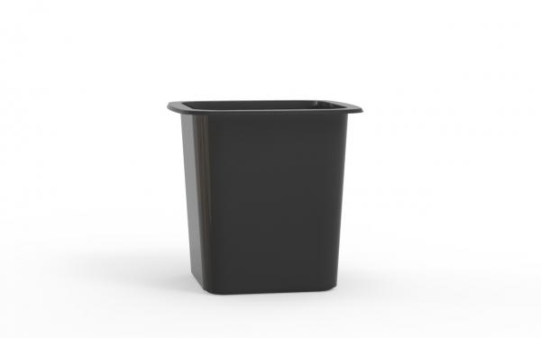 Box operculable noire 500 cm3
