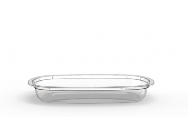 Barquette Euroduo operculable transparente 420 cm3