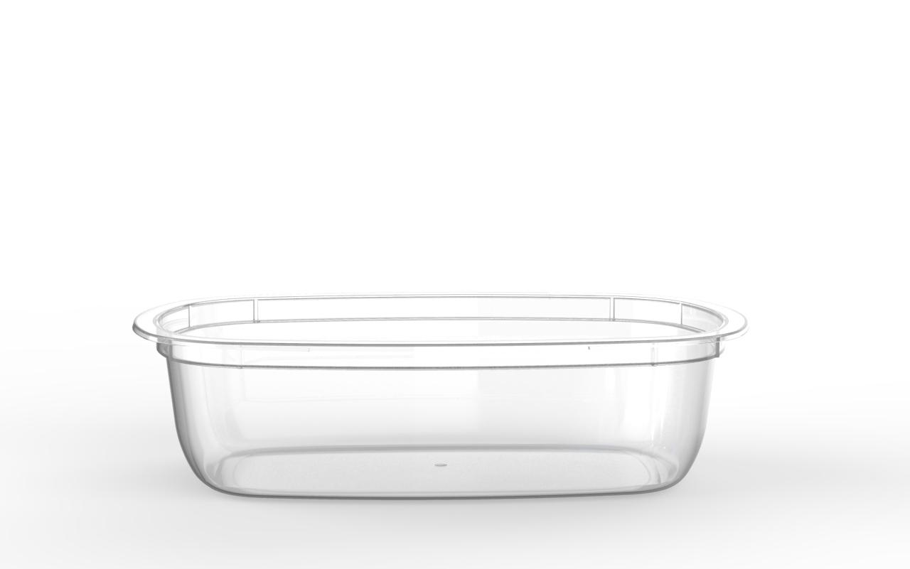 Barquette Euroduo operculable transparente 800 cm3