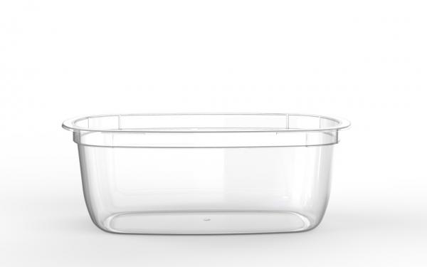 Barquette Euroduo operculable transparente 1100 cm3