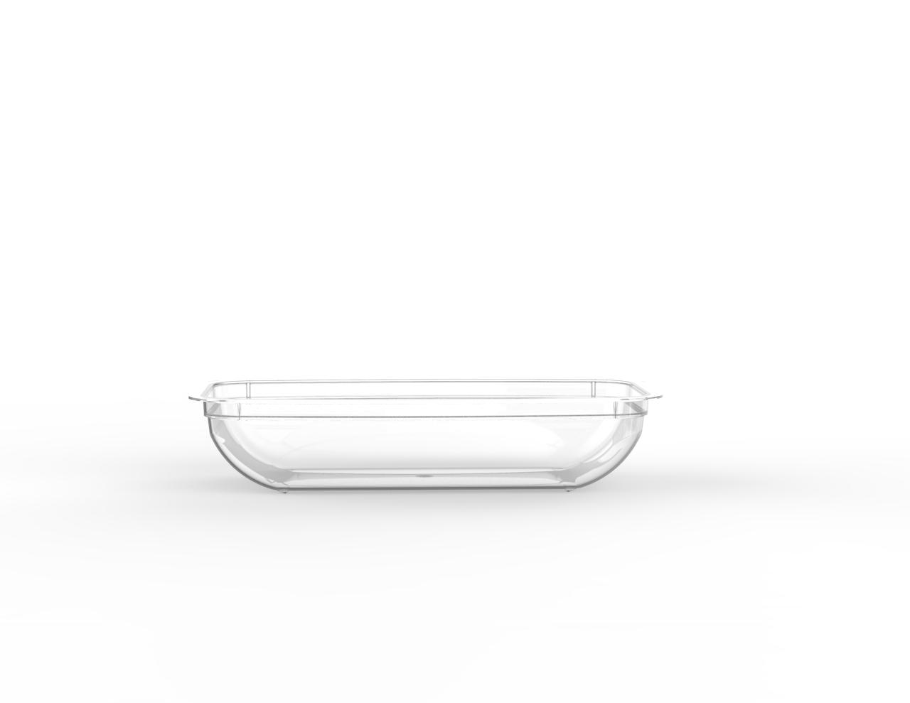 Barquette tartinable operculable transparente 160 cm3