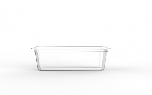 Barquette tartinable operculable transparente 210 cm3