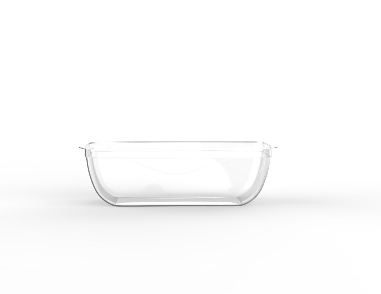 Barquette tartinable operculable transparente 250 cm3