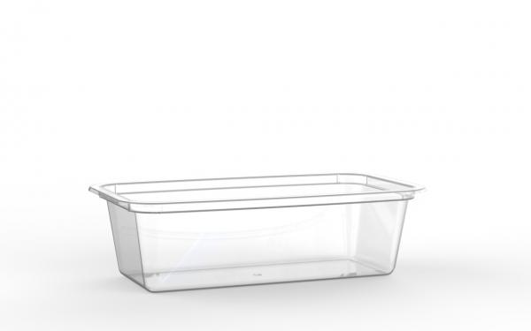 Barquette lingot operculable transparente 490 cm3
