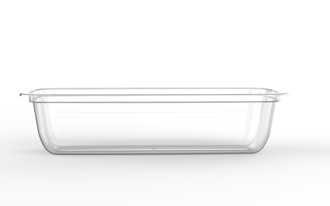 Barquette operculable transparente 600 cm3