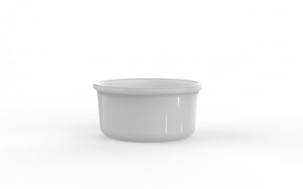 Boîte réutilisable blanche 1150 cm3