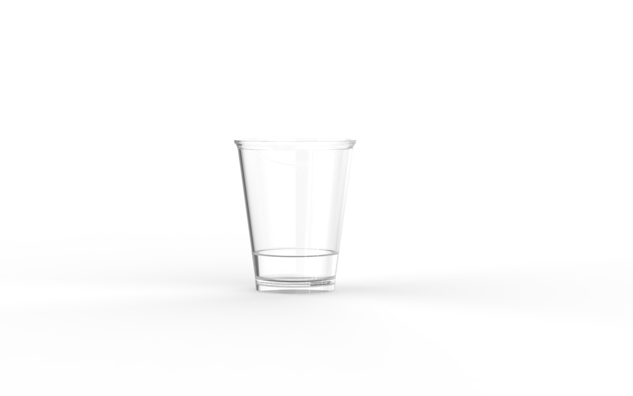 Verrine operculable transparente brillante 66 cm3