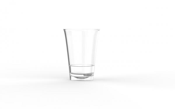 Verrine operculable transparente brillante 85 cm3