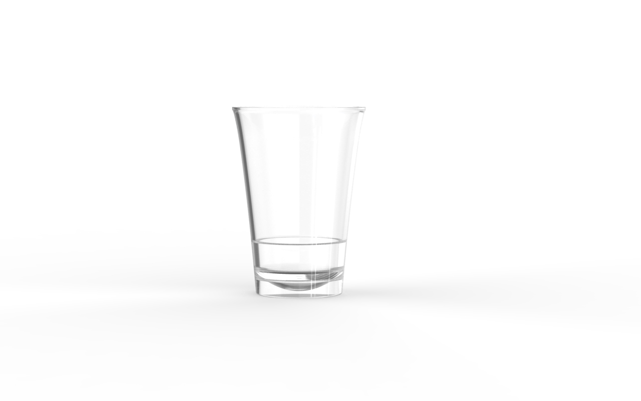 Verrine operculable transparente brillante 85 cm3
