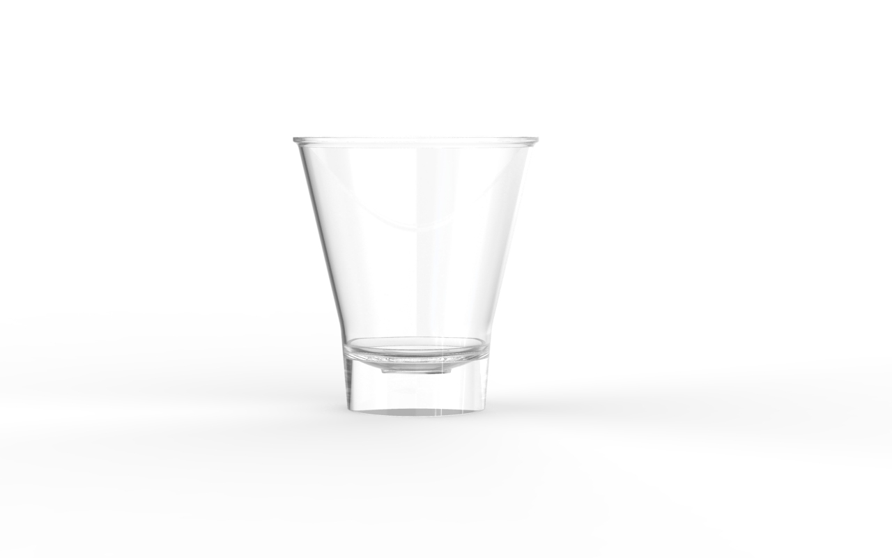Verrine operculable transparente brillante 140 cm3