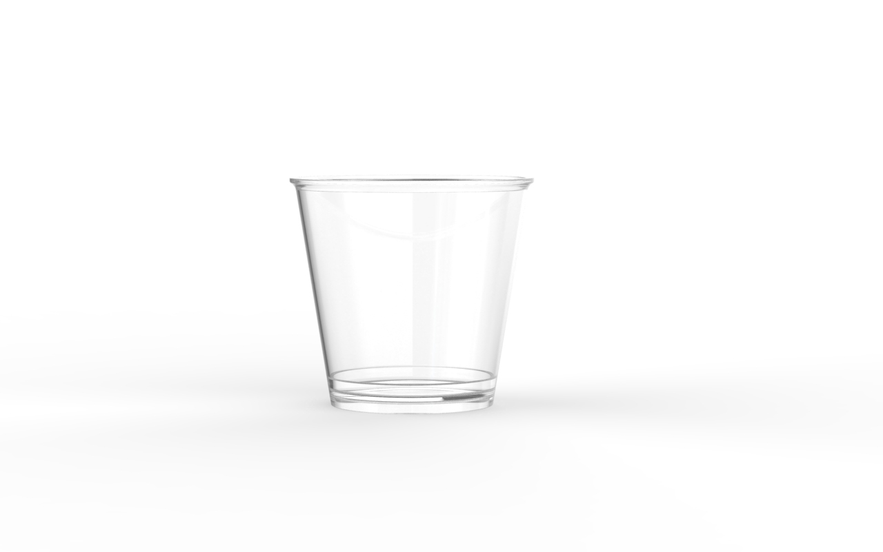Verrine operculable transparente brillante 160 cm3