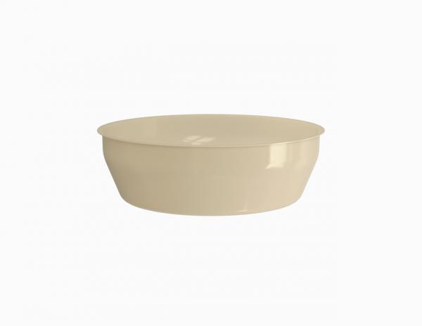 Terrine operculable crème tachetée 3100 cm3
