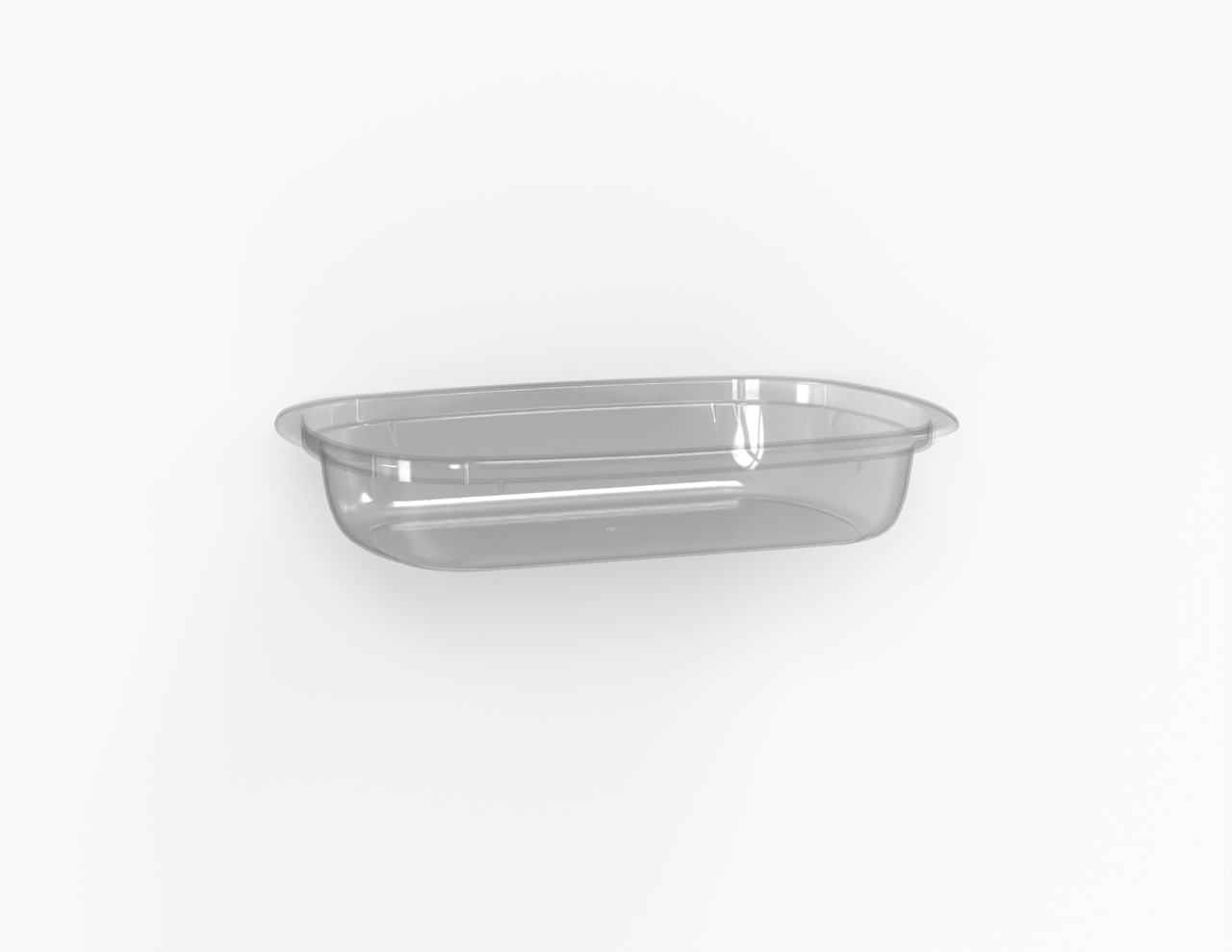 Barquette Euroduo operculable transparente 520 cm3