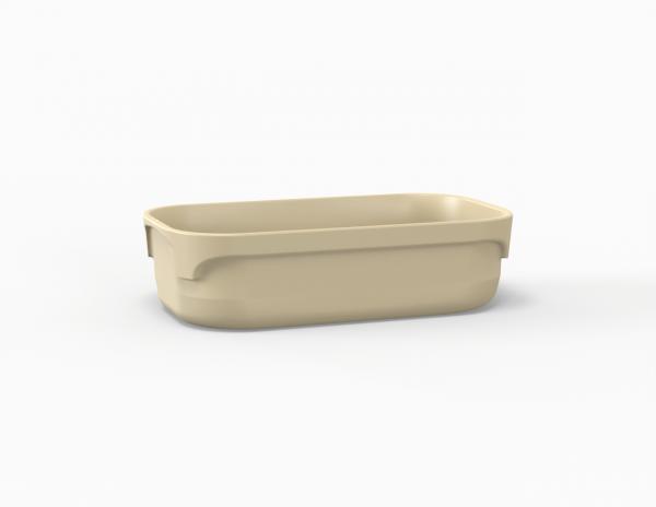 Terrine crème tachetée 2100 cm3