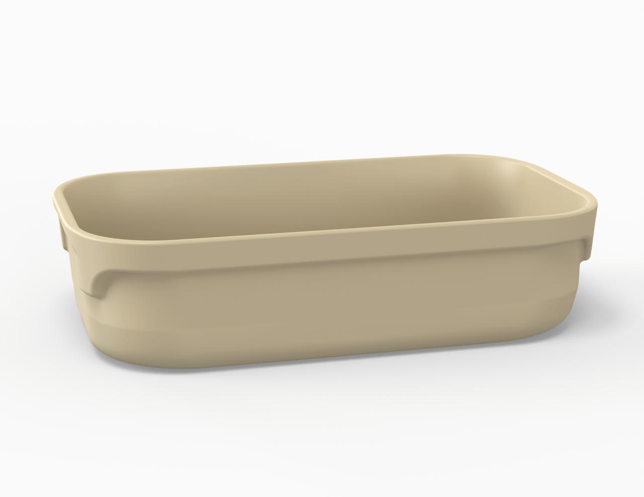 Terrine crème tachetée 3100 cm3