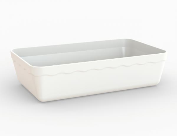 Terrine blanche 3150 cm3