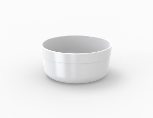Boîte réutilisable blanche 350 cm3