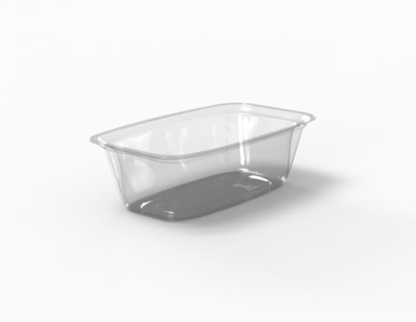 Barquette transparente 200 cm3
