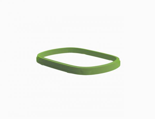 Bague d'assemblage vert anis pour barquette Euroduo